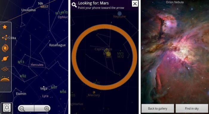Aplikasi Pengamatan Bintang Untuk iPhone & Android